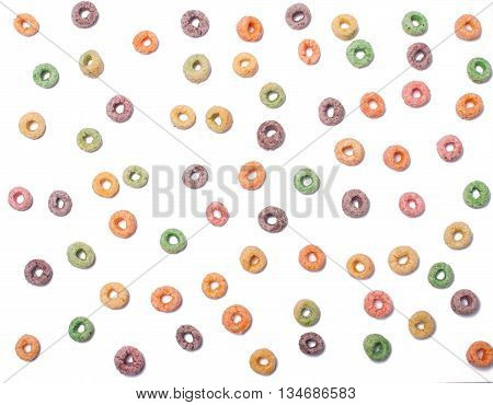 Delicious and nutritious fruit cereal flavorful, fruit cereals seamless pattern