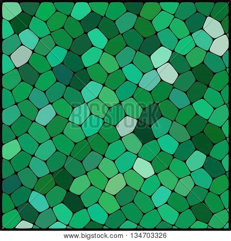 abstract green background,  square simple vector illustration