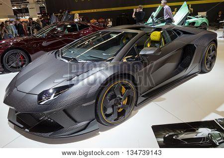 Mansory Carbonado Lamborghini