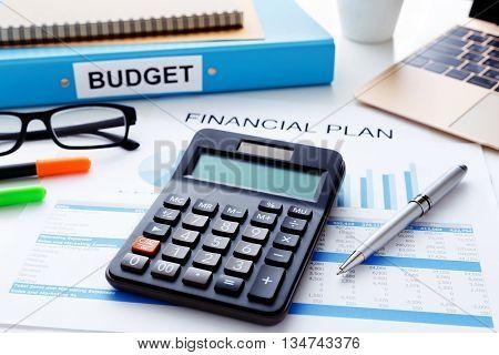 Financial Plan Concept