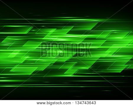 High speed, Hi-tech. Abstract technology background, Vector illustration