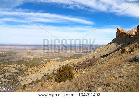 Mesa Verde National Park in March, 2016, Colorado