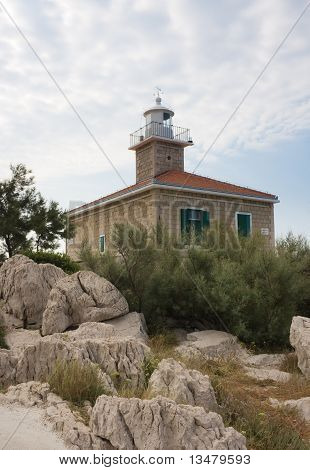Lighthouse On The Resort Makarska. Croatia