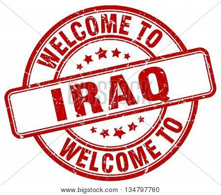 welcome to Iraq stamp. welcome to Iraq.
