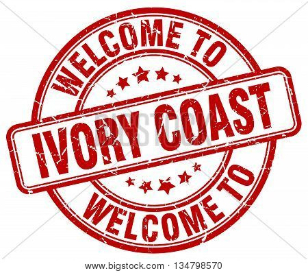 welcome to Ivory Coast stamp. welcome to Ivory Coast.