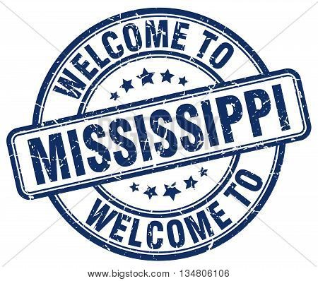 welcome to Mississippi stamp. welcome to Mississippi.