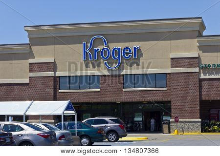 Indianapolis - Circa June 2016: A Kroger Supermarket. The Kroger Co. is One of the World's Largest Grocery Retailers III