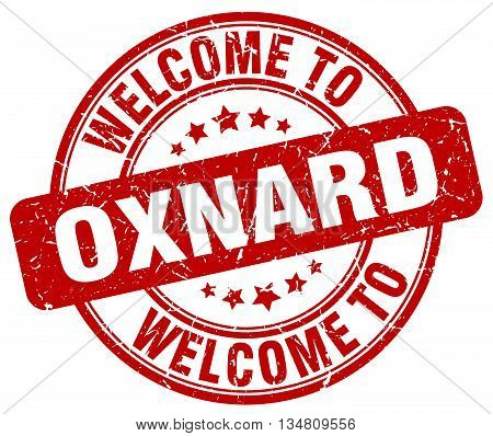 welcome to Oxnard stamp. welcome to Oxnard.
