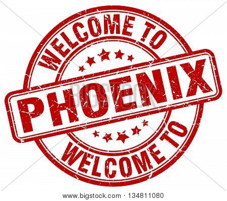 welcome to Phoenix stamp. welcome to Phoenix.