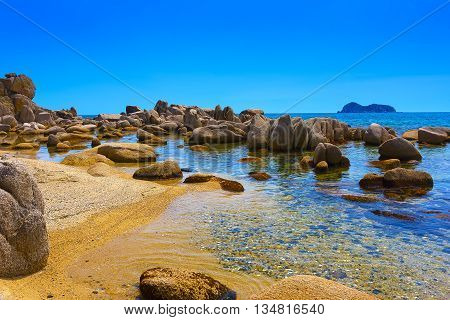 Sea Of Japan In The Spring