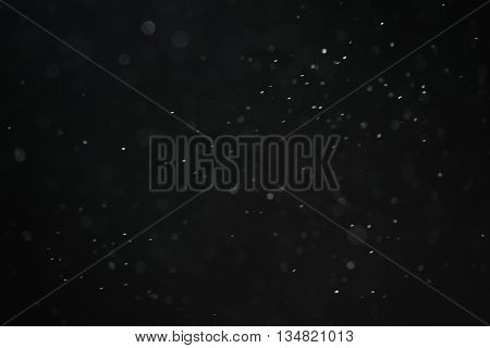 dust particles overblack background fx backdrop, real photo no cgi