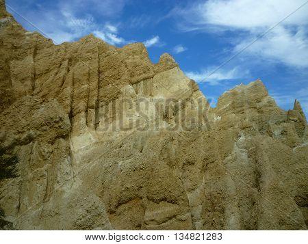 The natural Clay Cliffs formation near Omarama 4