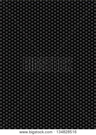 Black texture synthetic fiber geometric seamless background kevlar