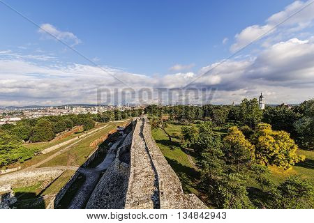 Belgrade Fortress And Park
