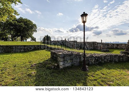 Belgrade Fortress And Park
