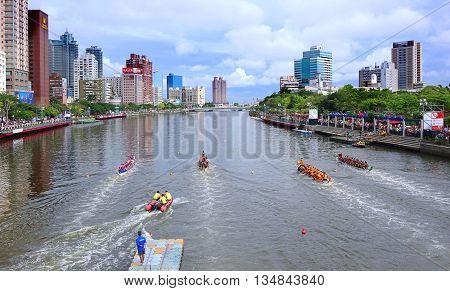 The 2016 Dragon Boat Festival In Taiwan