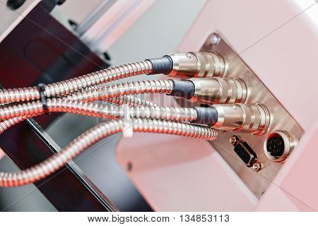 Connection Inlet For Machine