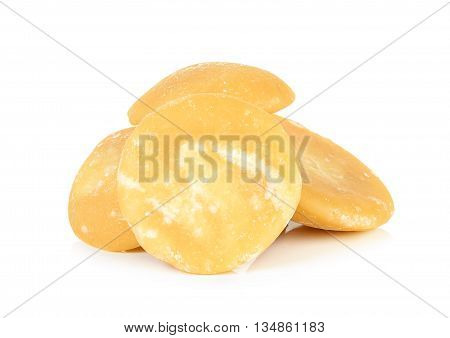 Coconut Sugar Isolated On The White Background