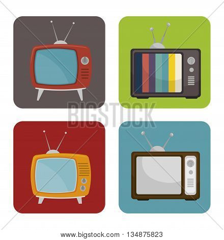 tv medio design, vector illustration eps10 graphic