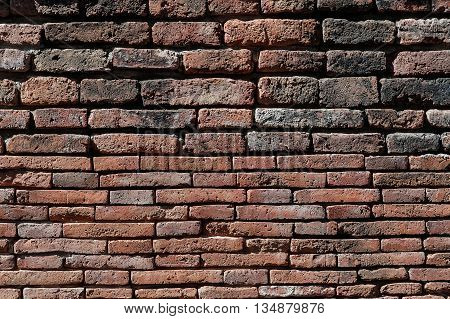Old grunge brick wall of texture background