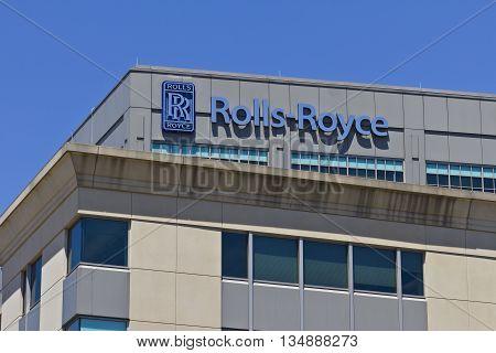 Indianapolis - Circa June 2016: Rolls-Royce Corporation Indianapolis Plant III