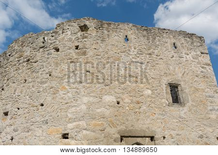 castle ruin Waxenberg - one of the oldest castles in austria