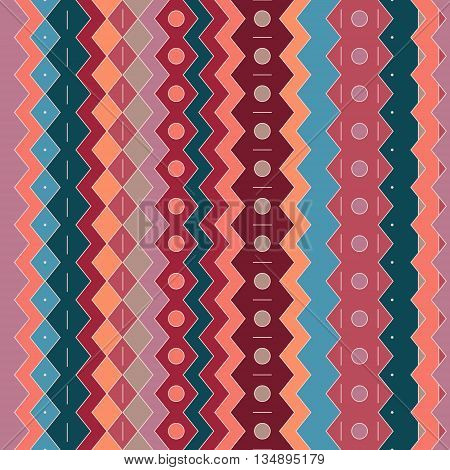 Seamless striped vertical pattern . Abstract Vector Background .