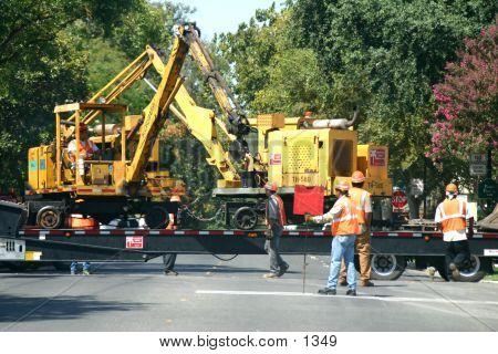 Road Construction Crew