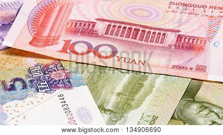 Yuan bank notes business background