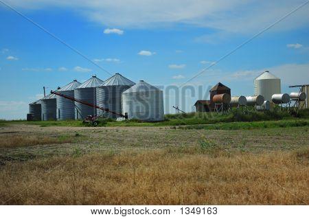 Grain Farm Outbuildings Agricultural