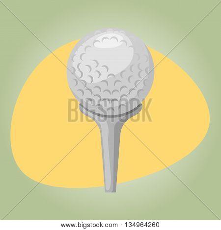 Golf ball icon Golf ball icon vector Golf ball icon eps 10 Golf ball icon jpg. Vector illustration
