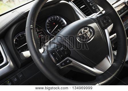 Toyota Highlander Third Generation Interior