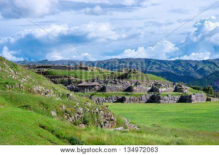 Sacsayhuaman In Cusco, Peru
