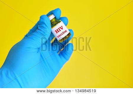 Human immunodeficiency virus (HIV) vaccine for injection