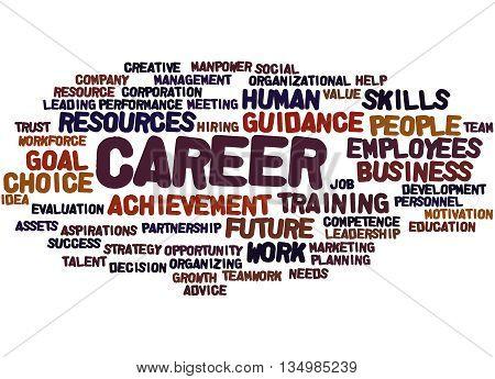 Career, Word Cloud Concept 8