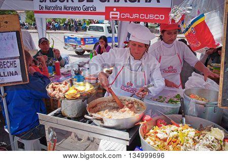 Market In Cuzco, Peru