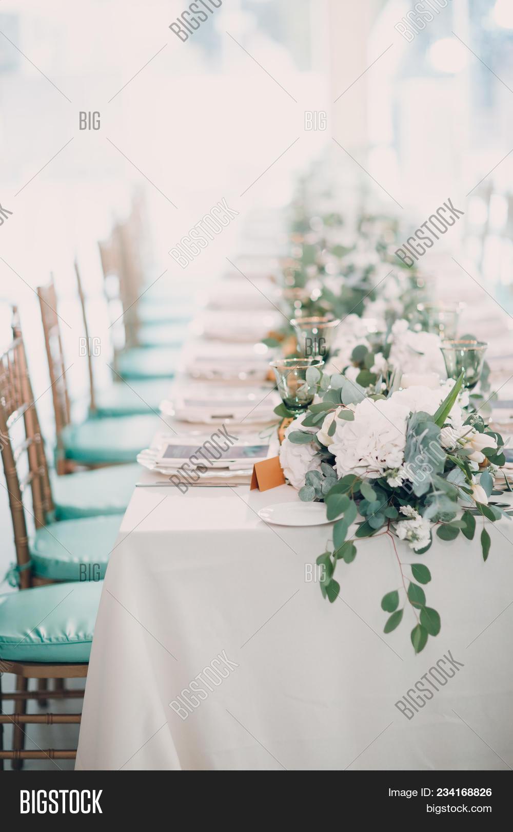 Wedding Decor White Image & Photo (Free Trial) | Bigstock