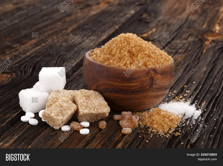 Various Types Sugar Image Photo Free Trial Bigstock