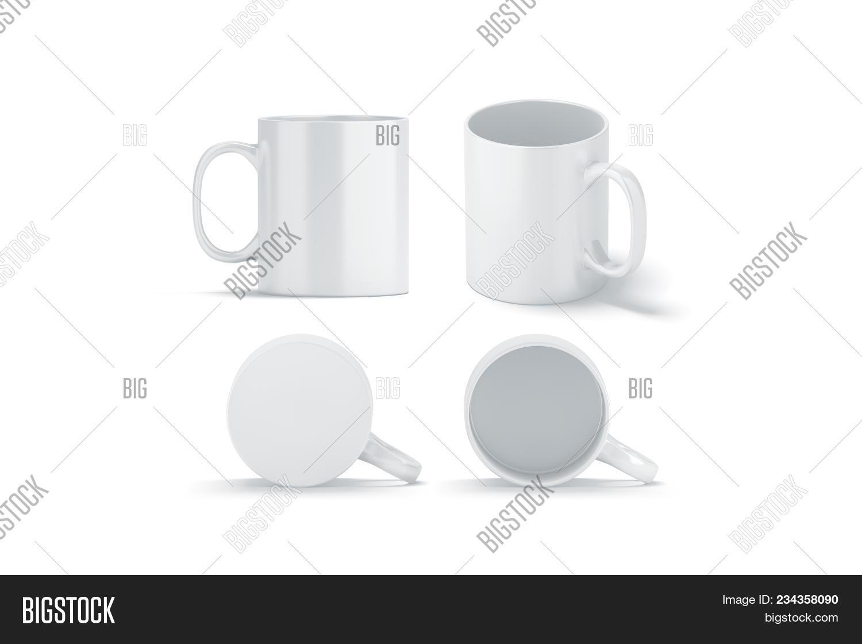 97f4a970eeb Blank White Glass Mug Image & Photo (Free Trial)   Bigstock