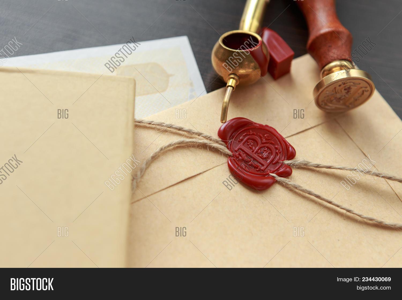 Notary Public Wax Image Photo Free Trial Bigstock