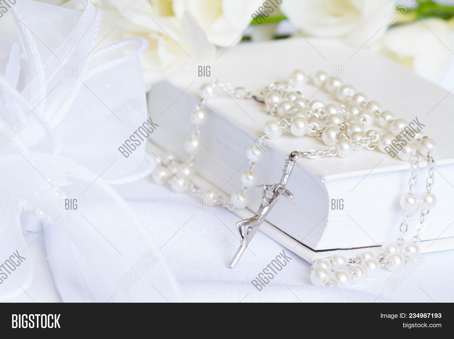 First Holy Communion Image Photo Free Trial Bigstock