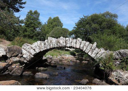 Pont de Senoueix From Taurion River
