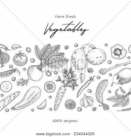 Organic Food Design Vector & Photo (Free Trial) | Bigstock