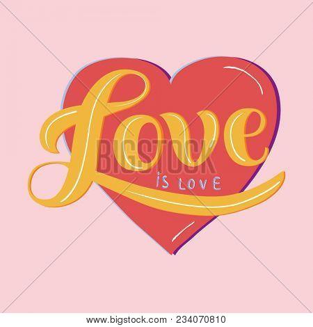 Love is Love illustration