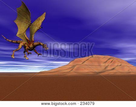 Dragon Flying Home