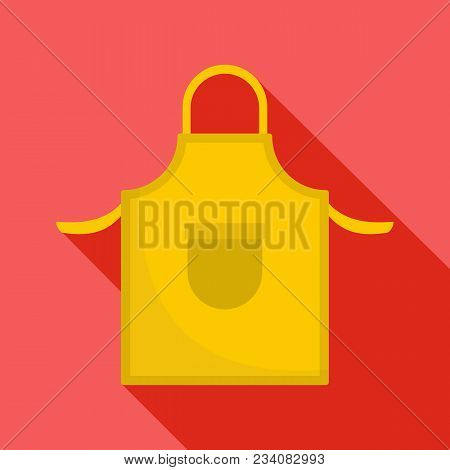 Apron Icon. Flat Illustration Of Apron Vector Icon For Web