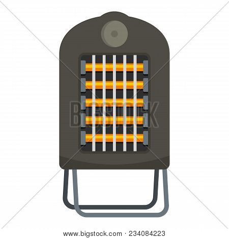 Portable Heater Icon. Flat Illustration Of Portable Heater Vector Icon For Web