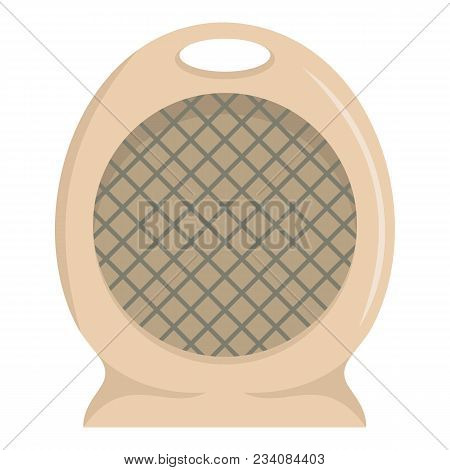 Portable Fan Icon. Flat Illustration Of Portable Fan Vector Icon For Web