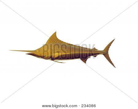 Gold Marlin