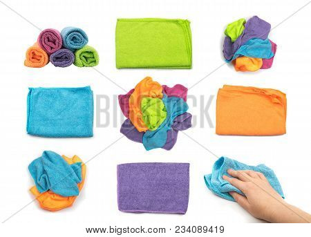 Microfiber Cleaning Cloth Collection